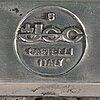Giancarlo piretti, stolar 6 st, castelli, italien, 1900-talets andra hälft.