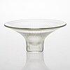 A 3138 glass bowl, signed  tapio wirkkala iittala.
