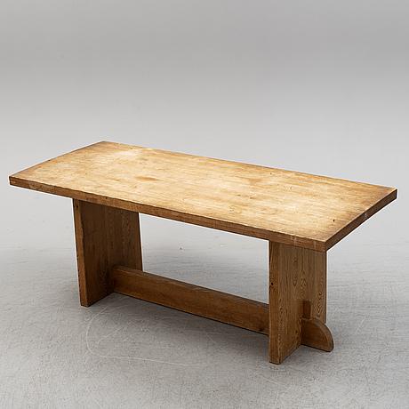 Axel einar hjorth, a 'lovö', table, nordiska kompaniet, 1930s.