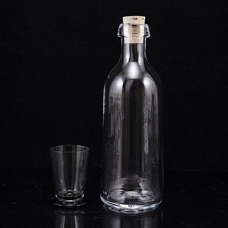 Ingegerd rÅman, 9 delar glas, skruf.