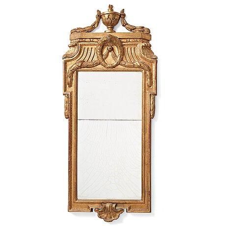 A gustavian mirror by johan Åkerblad 1769.