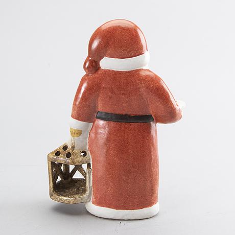Lisa larson, stoneware figurine, gustavsberg.