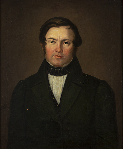 Carl johan sjÖstrand & carl wilhelm nordgren (1804-1857) 2 , oil on canvas, signed and dated 1839, 1840.