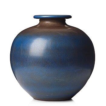 54. Berndt Friberg, a large stoneware  vase, Gustavsberg studio, Sweden 1965.