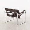 """Marcel breuer, a """"wassily"""" armchair for gavina."""