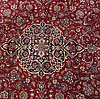 An old keshan carpet ca 374 x 264 cm.