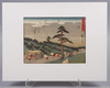 TrÄsnitt, 9 st, senare tryck, japan, 1900-tal.