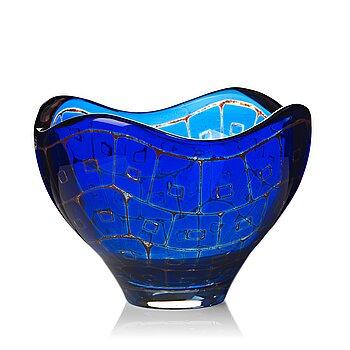 "16. Sven Palmqvist, a ""Ravenna"" glass bowl, Orrefors 1978."