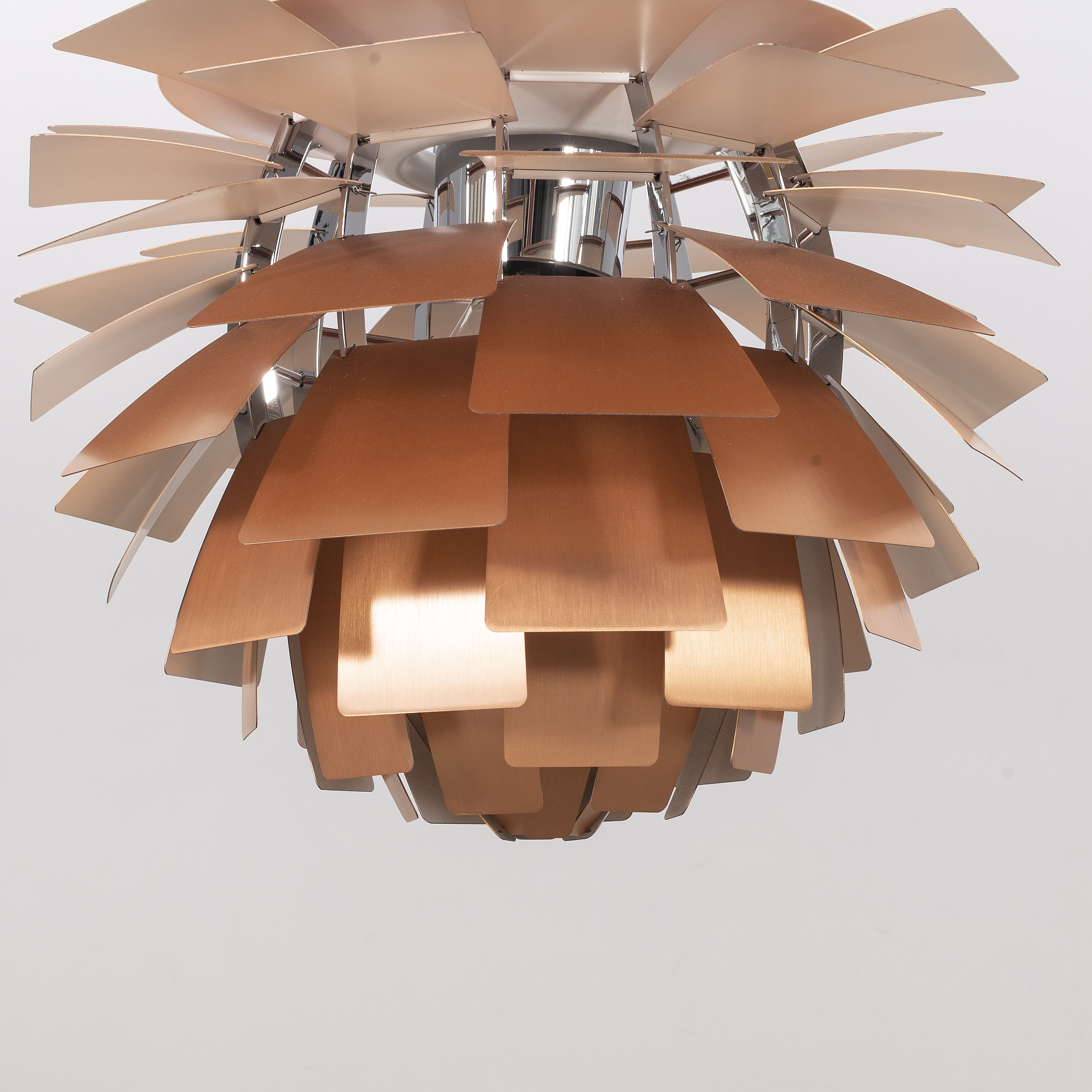 Poul Henningsen copper PH 'PH Kotte lamp ceiling A sQoxBCthdr