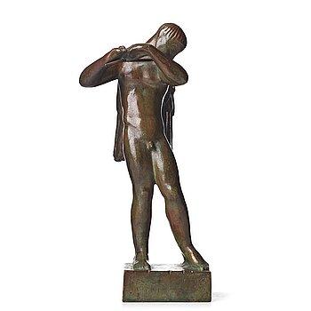 """400. Carl Milles, """"Flöjtblåsande ängel"""" (Angel with a flute)."""