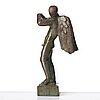 """Carl milles, """"flöjtblåsande ängel"""" (angel with a flute)."""