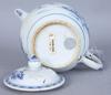 Tekanna, porslin, kina, 1700-tal.