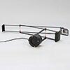 Richard sapper, a 'tizio' desk lamp designed in 1972 for artemide, italy.