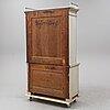An early 19th century late gustavian cupboard.