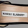 Manolo blahnik, pumps, size37 1/2.