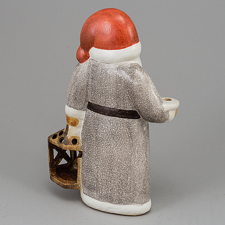 Lisa larson, a stoneware figurine/candle holder, gustavsberg.