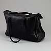 Mulberry, a black leather 'bayswater handbag.