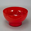 Anne nilsson, glass bowl, kosta boda, signed and numbered 1/5.