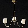Josef frank, a model 2479 ceiling lamp, firma svenskt tenn.