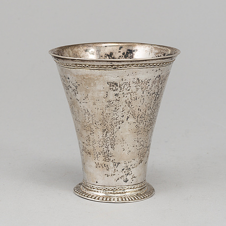 Daniel ekelÖf, bägare, silver, Örebro 1723-1750.