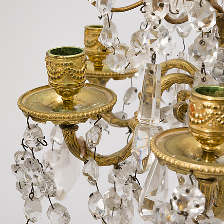 A late 19th century candelabrum.