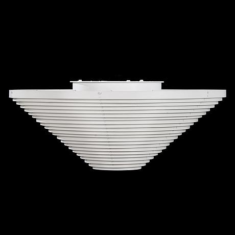 Alvar aalto, a late 20th century ceiling lamp a622a, manufacturer valaisinpaja oy, finland.