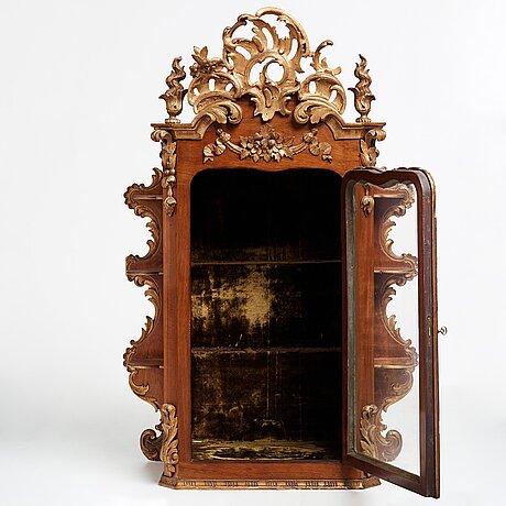 The kristina nilsson (1843-1921, opera singer) vitrine cupboard, 18th and 19th century.