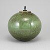 Anja notini, a earthenware 'circle' urn, 1990's.