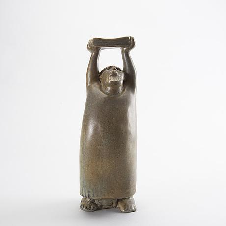 Åke holm,a glazed stone ware figurine.