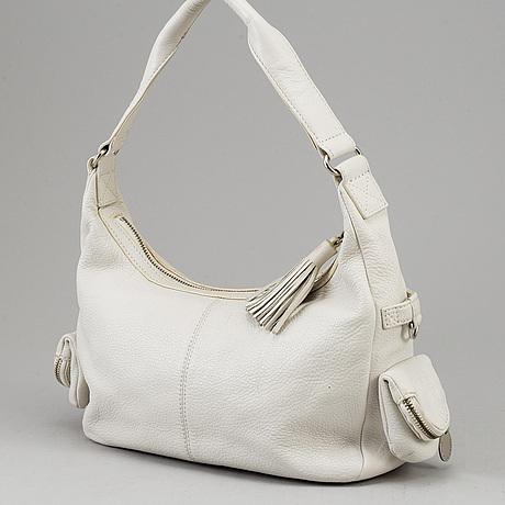 Sonia rykiel, a white leather bag.