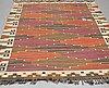 """MÄrta mÅÅs-fjetterstrÖm, a carpet, """"bruna heden"""", flat weave, ca 302,5 x 203-204 cm, signed ab mmf."""