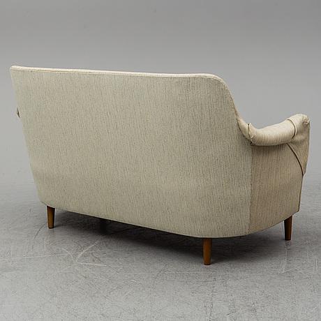 Carl malmsten, a 'samsas' sofa from ab o.h. sjögren, 1985.