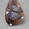 Bertil vallien, a glass sculpture, kosta boda.