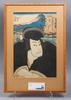 Utagawa kunisada (toyokuni iii), träsnitt.