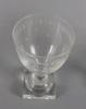 Servisdelar, ca 50 delar. glas, 1900-tal.