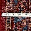 A carpet, kashan, ca 374 x 263 cm.