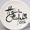 "Heini riitahuhta, vas/kanna, porslin, ""dragon pitcher"", signerad heini riitahuhta 2016."