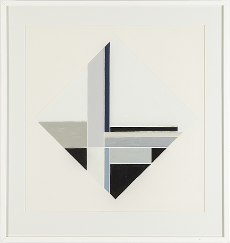 Sven hansson, gouache, signed and dated 1993.
