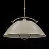 Hans j wegner, a 'the pendant' ceiling lamp, louis poulsen, second half of the 20th century.