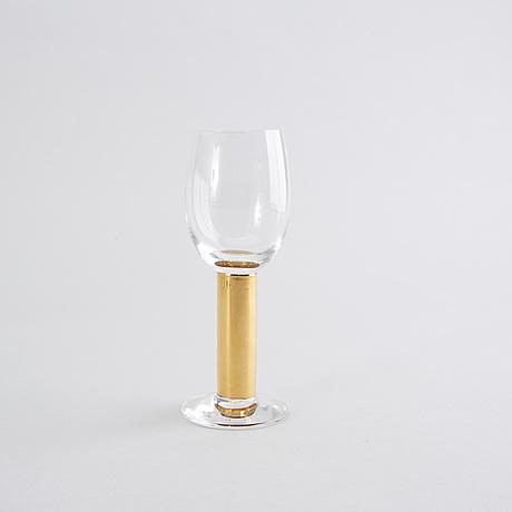 "Gunnar cyrÉn, ""nobel"", glasservis, 55 dlr, orrefors."