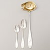 A silver soup with 12 soup spoons and six dessert spoons, hämeenlinna, finland 1928 and 1963-74.
