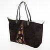 Longchamp crossbody and shopper bag.