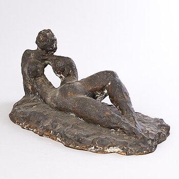 KERTTU LEPPÄNEN, bronze, signed and dated 1961.
