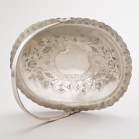 BrÖdkorg, silver, p. miljukov, moskva 1894.