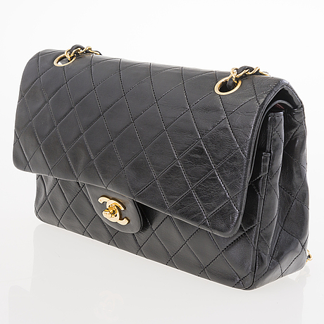 "Chanel, ""double flap bag"", vÄska."