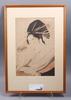 Träsnitt, 3 st, senare tryck, japan, 1900-tal.