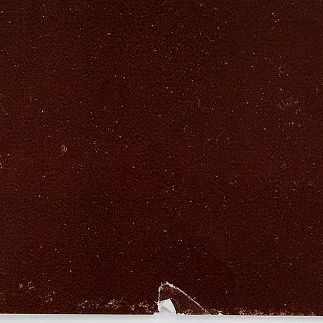 Bernard villemot, a vintage poster, 'bally lotus', ipa, 1974.