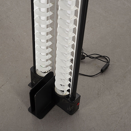 Gian nicola gigante, a neon floor lamp for zerbetto italy 1980's.
