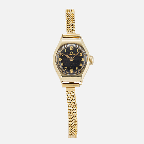 Omega, armbandsur, 18 x 21 mm.