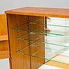 Josef frank, a model 719 mahogany bar cabinet, svenskt tenn, designed late 1930's.